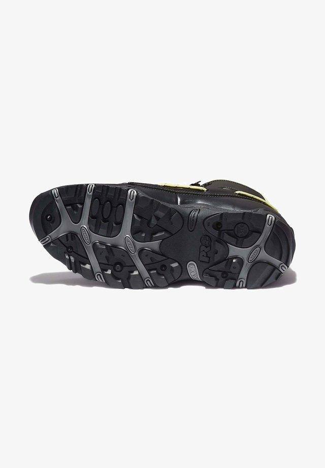 Botines con cordones - jet black