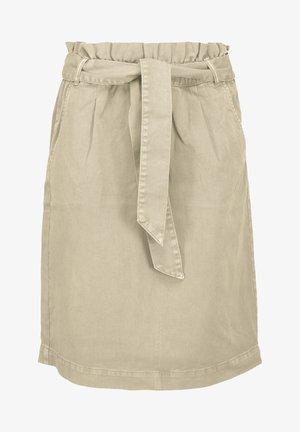 MELINA - A-line skirt - wood ash