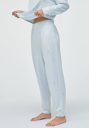 MOON - Pyjama bottoms - light blue
