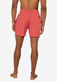 Protest - SHARIF - Swimming shorts - deep coral - 2