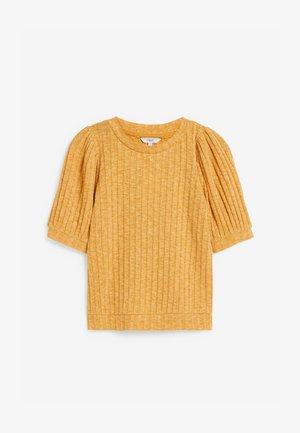 Camiseta básica - ochre