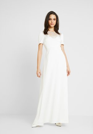 YASCORDELIA MAXI DRESS CELEB - Vestido largo - star white