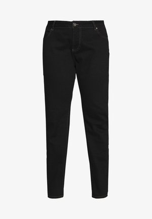 LONG EMILY - Jeans relaxed fit - black