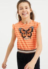 WE Fashion - Jerseyjurk - orange - 1