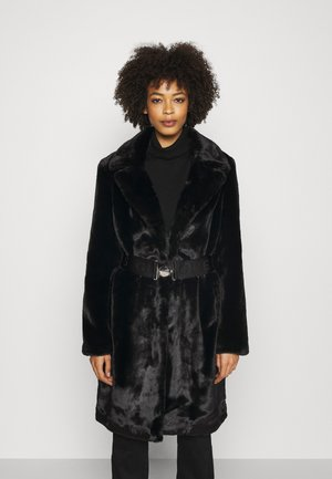 NEW SHELLY COAT - Classic coat - jet black