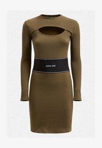 Guess - ATIFA DRESS - Jumper dress - grün - 3