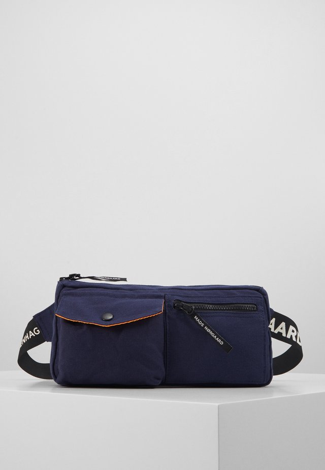 CARNI LOGO - Bum bag - navy