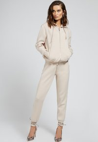Guess - Zip-up sweatshirt - beige - 1