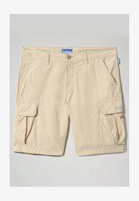 Napapijri - N-ICE CARGO - Shorts - natural beige - 4