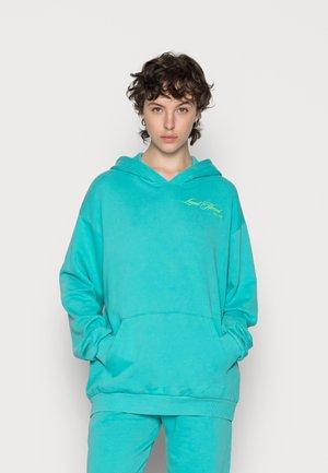 HOODIE - Sweatshirt - turquoise