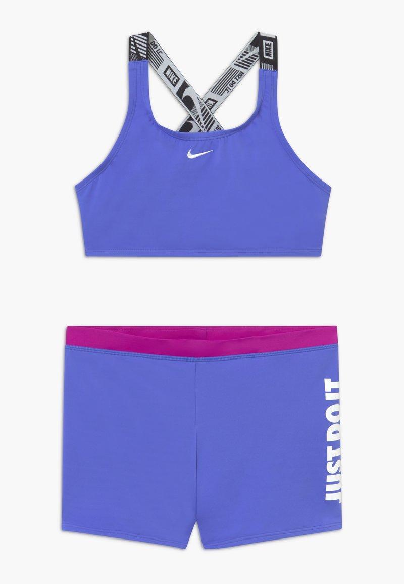Nike Performance - CROSSBACK SPORT SET - Bikini - sapphire