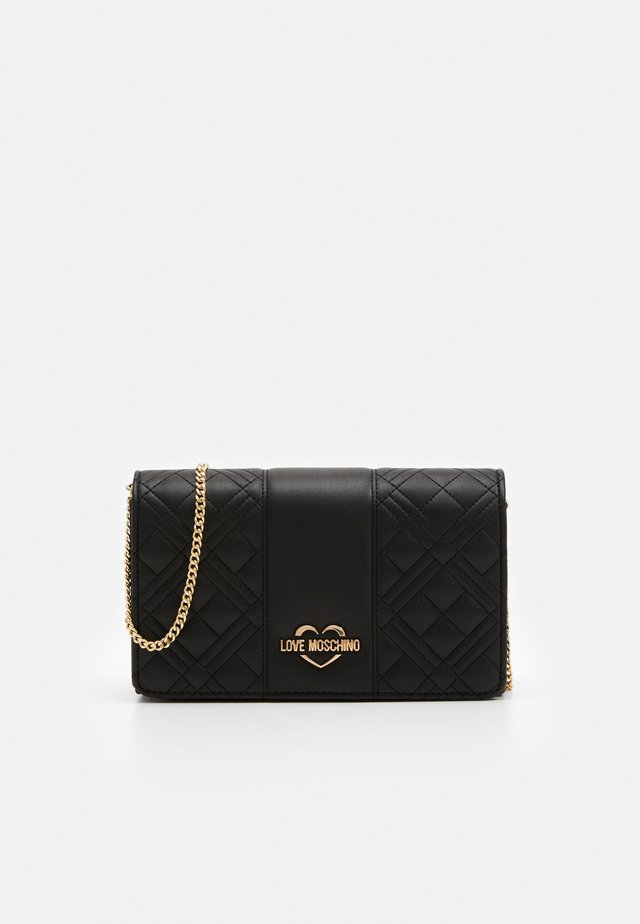 EVENING BAG - Across body bag - black