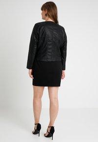 ONLY Carmakoma - CAROKRA  - Faux leather jacket - black - 3