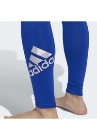 adidas Performance - ALPHASKIN 2.0 SPORT LONG TIGHTS - Leggings - blue - 6