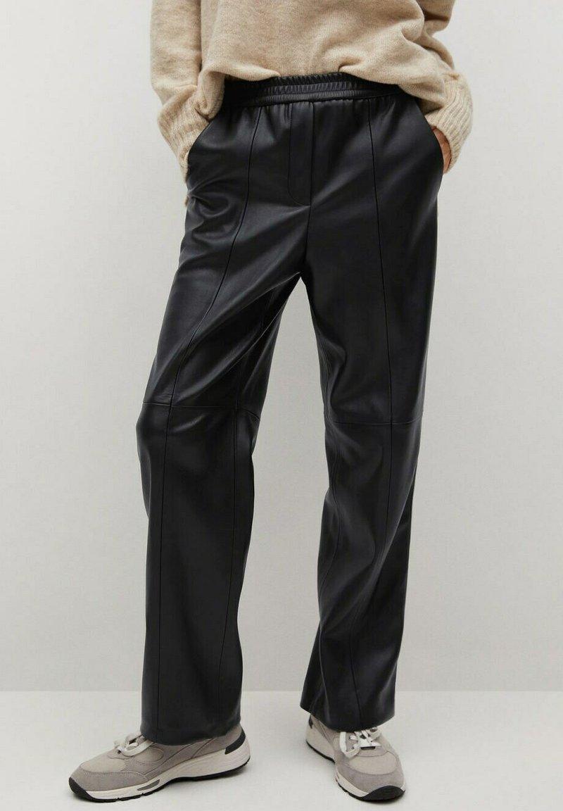 Mango - MA - Trousers - black
