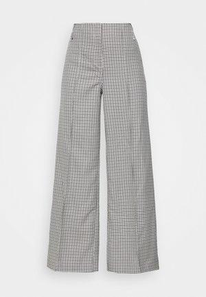 PETRA TROUSER - Spodnie materiałowe - dogtooth