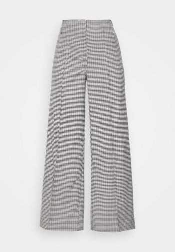PETRA TROUSER - Trousers - dogtooth