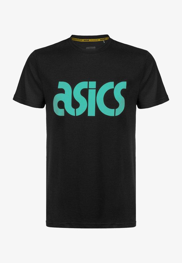T-shirt imprimé - performance black