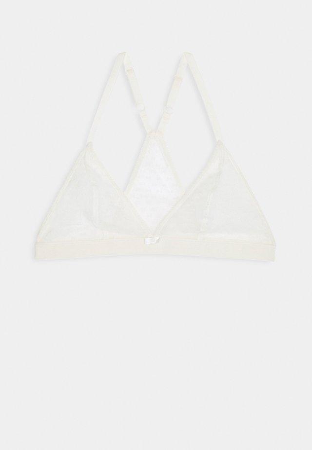 CHIC LINE TRIANGLEBRA - Kaarituettomat rintaliivit - white