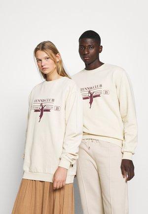 RACKET UNISEX - Sweater - ecru