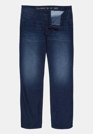 Straight leg jeans - blue denim.