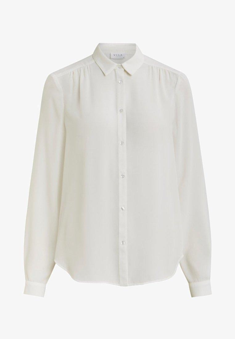 Vila - VILUCY - Button-down blouse - snow white