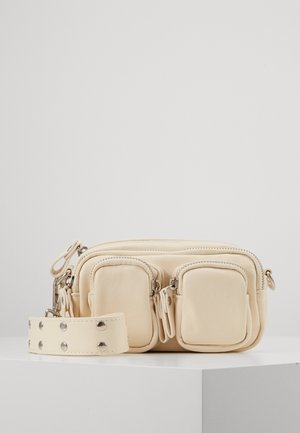 CONNIE MINI BAG - Across body bag - white