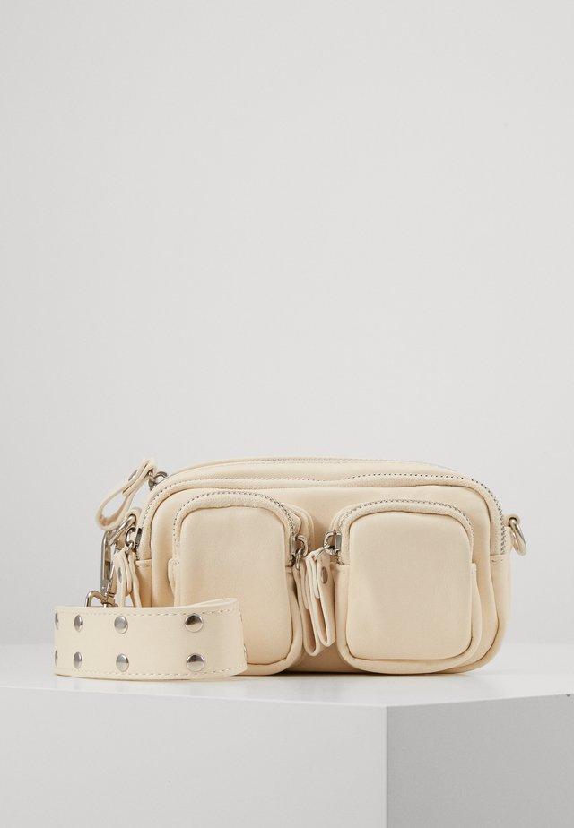 CONNIE MINI BAG - Taška spříčným popruhem - white