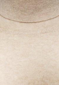 pure cashmere - TURTLENECK - Jumper - oatmeal - 3