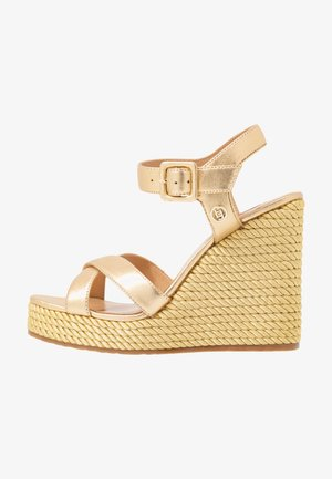 LUCY  - High heeled sandals - gold
