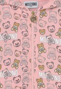 MOSCHINO - ADDITION - Mikina na zip - pink - 2
