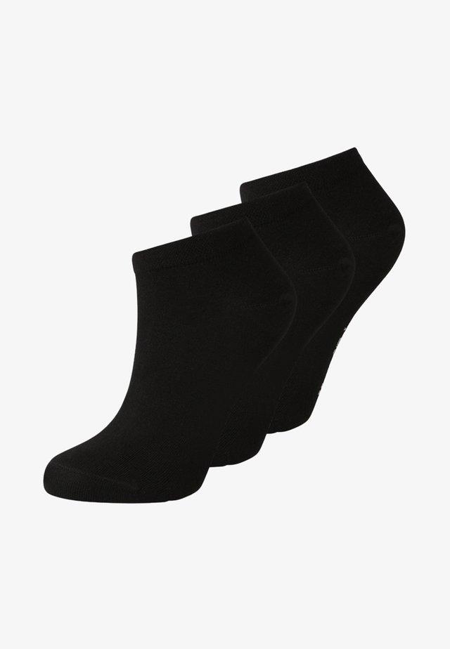 SNEAKER WOMEN 3 PACK - Sokken - schwarz