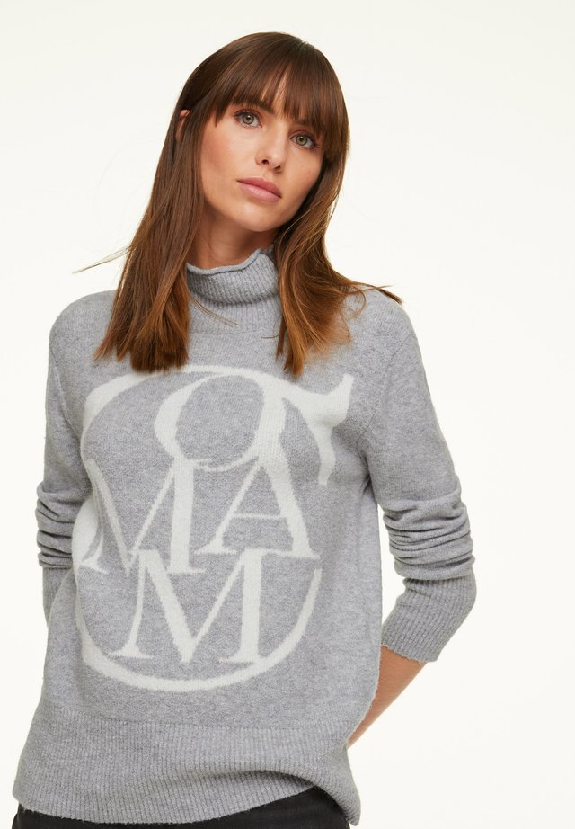 Jumper - light grey knit