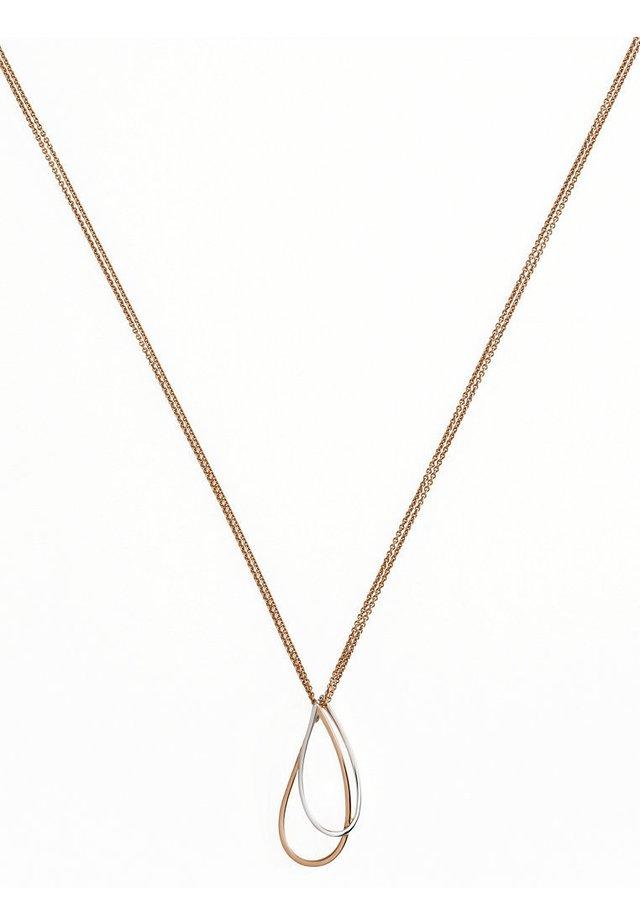 Halskette - rotgold