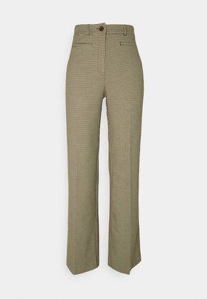 STACY TROUSERS - Trousers - brown choco