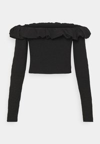 NA-KD - OFF SHOULDER  - Long sleeved top - black - 7
