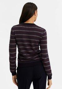 WE Fashion - MET JACQUARD DESSIN - Cardigan - all-over print - 2