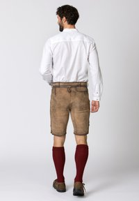 Stockerpoint - Leather trousers - brown - 2