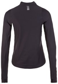 Under Armour - QUALIFIER HALF ZIP DAMEN - Sports shirt - black - 1