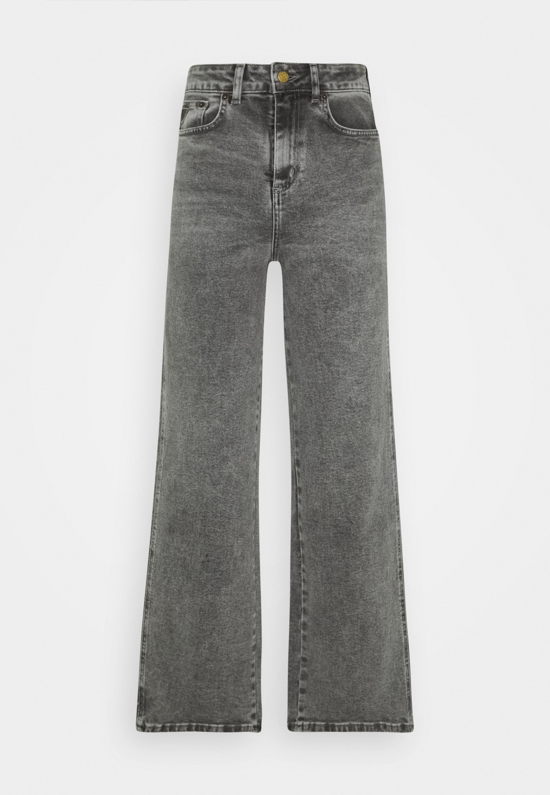 Puerto marítimo sobrino Bocadillo  LOIS Jeans RACHEL - Flared Jeans - stone grey/grey denim - Zalando.ie