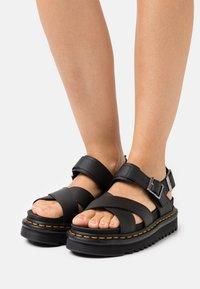 Dr. Martens - VOSS - Platform sandals - black hydro - 0