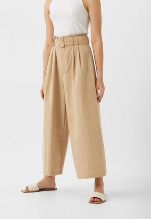 01166190 - Spodnie materiałowe - beige
