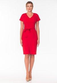 Diyas London - Shift dress - red - 5