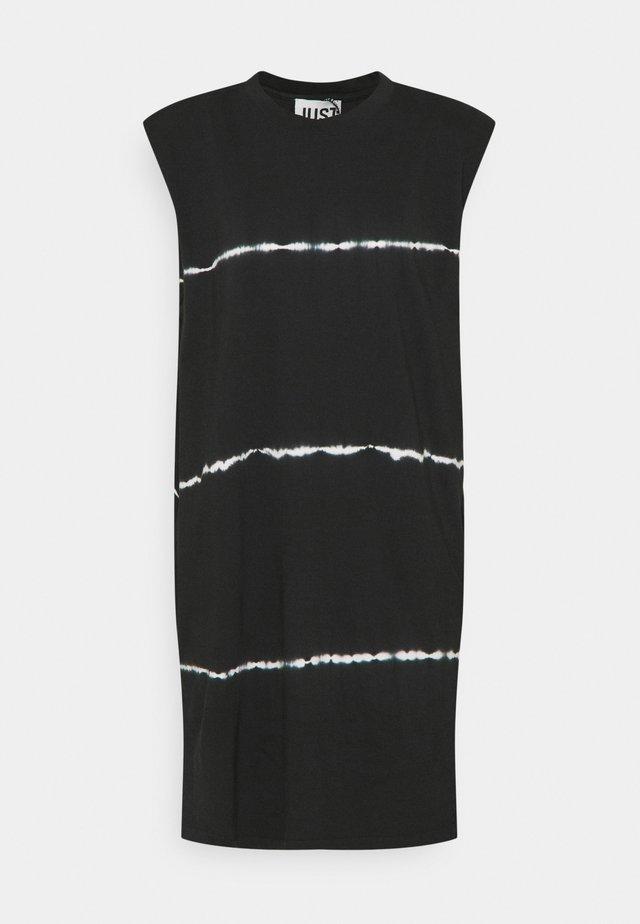 BEIJING DRESS TIEDYE - Vardagsklänning - black