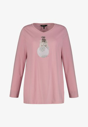 Long sleeved top - rose mat