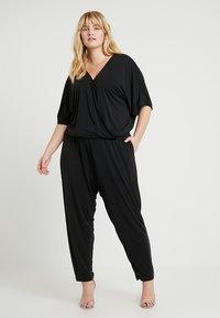 Urban Classics Curvy - LADIES - Jumpsuit - black - 1