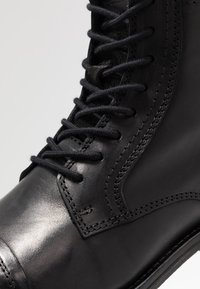 Jack & Jones - JFWRUSSEL - Bottines à lacets - anthracite - 5
