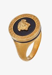 Versace - Ring - nero/oro tribute - 4