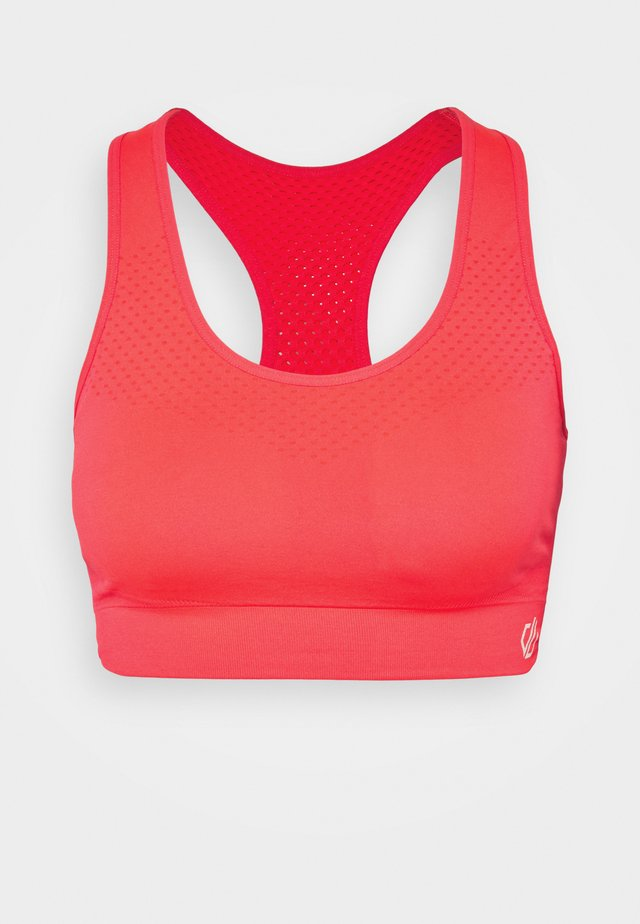 DONT SWEAT IT - Sport-bh met medium support - fiery coral