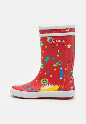 LOLLY POP UNISEX - Wellies - rouge/flipper